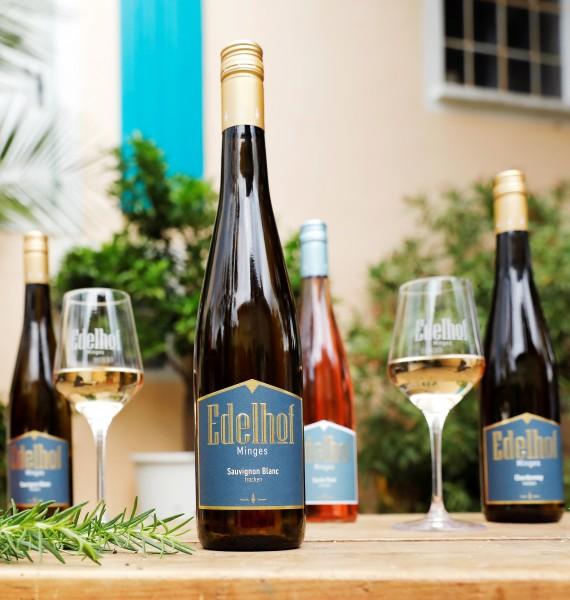 Weinprobe für daheim trocken